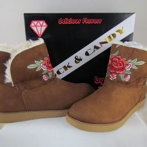New Rock & Candy Women's Larue Brown Boot